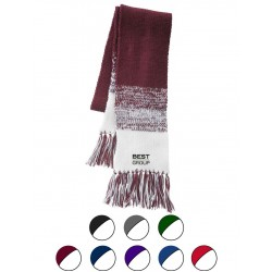 Acrylic Rib-Knit Scarf
