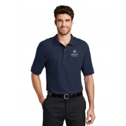 Navy Silk Touch Polo