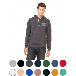 Sponge Fleece Pullover Hooded Sweatshirt