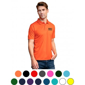 Omega Solid Mesh Tech Polo